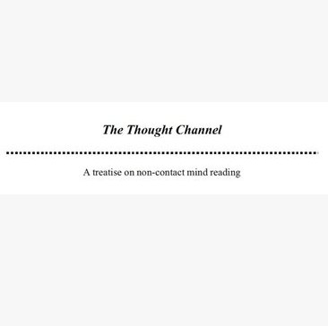 The Thought Channel by Jerome Finley