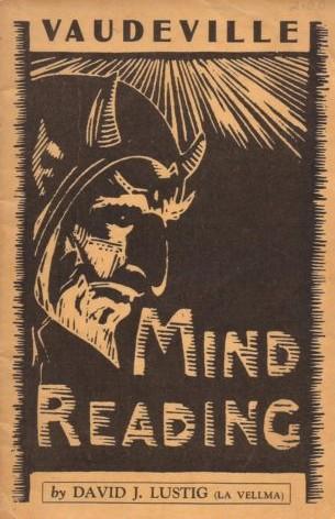 Vaudeville Mind Reading by David J Lustig