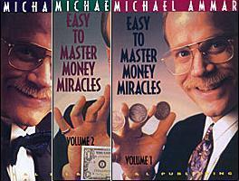 Easy To Master Money Miracles by Michael Ammar 3 Volume set