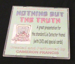 Nothing But The Truth Card by Cameron Francis