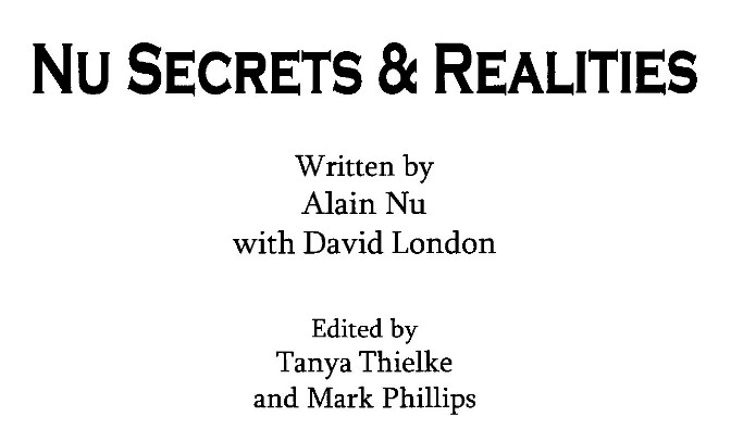 Secrets and Realities by Alain Nu