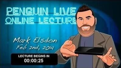 Mark Elsdon LIVE Penguin LIVE
