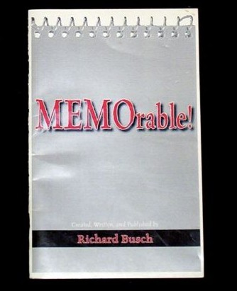 INSCRIBED Mentalism Booklet Richard Busch MEMORABLE 4 peeks from normal note pad