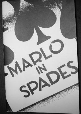 Marlo in Spades by Edward Marlo