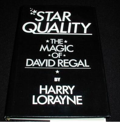 Star Quality The Magic of David Regal by Harry Lorayne