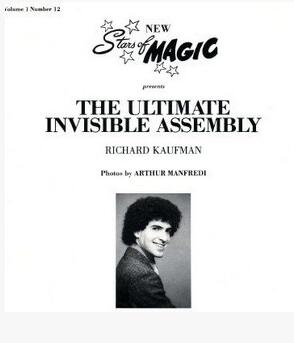The Ultimate Invisible Assembly by Richard Kaufman