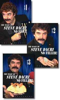 The Magic of Steve Dacri No Filler 3 Volume set by Steve Dacri