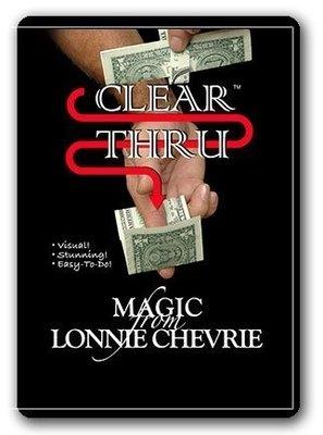 Clean Thru Clear Thru by Lonnie Chevrie
