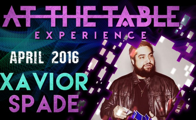 At the Table Live Lecture by Xavior Spade