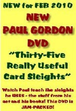 35 Really Useful Card Sleights by Paul Gordon