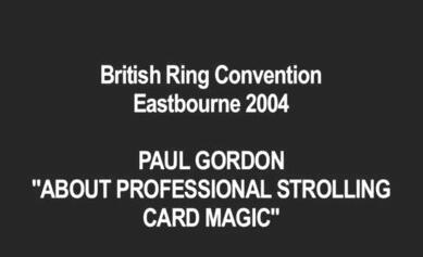 British Ring Convention by Paul Gordon
