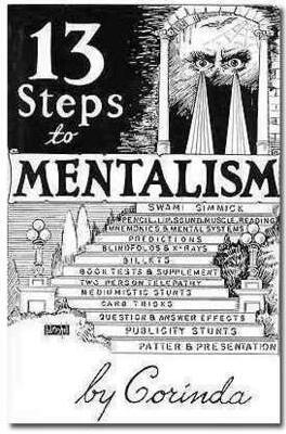 13 Steps to Mentalism by Tony Corinda