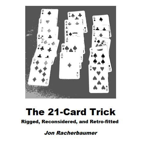 7-7-7: The 21 Card Trick by Jon Racherbaumer