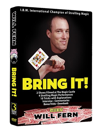 Will Fern Bring It! Black Rabbit Series Issue #6 3 DVD Set