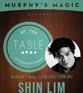 At the Table Live Lecture by Shin Lim