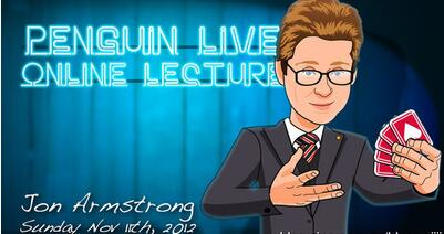 Jon Armstrong LIVE Penguin LIVE