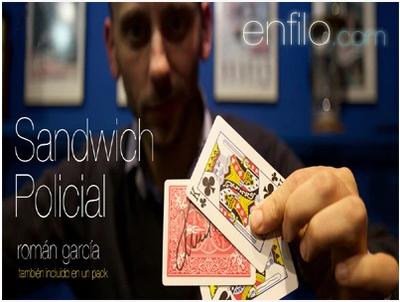 Sandwich Policial by Roman Garcia