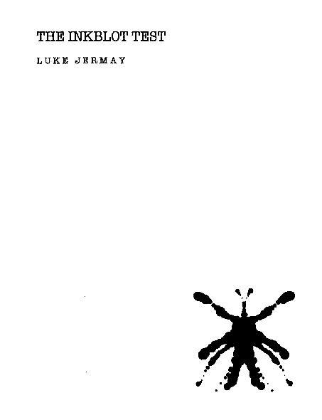 Inkblot Test by Luke Jermay