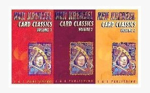 Card Classics by Ken Krenzel 3 Volume set