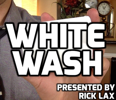 Whitewash by Rick Lax