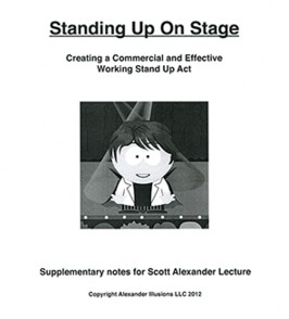 Standing Up On Stage by Scott Alexander