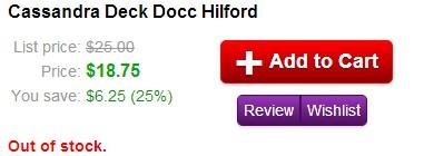 Cassandra Deck Docc Hilford
