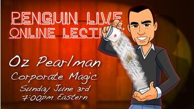 Oz Pearlman LIVE 2 Penguin LIVE