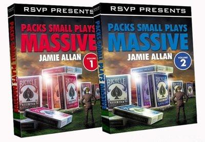 Packs Small Plays Massive by Jamie Allan 2 Volume set