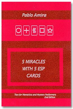 5 Miracles with ESP Cards by Pablo Amira & Titanas