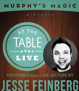 At the Table Live Lecture by Jesse Feinberg
