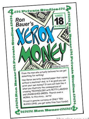 Ron Bauer 18 Xerox Money
