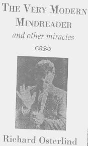 The Very Modern Mind Reader by Richard Osterlind