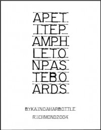 A Petite Pamphlet on Pasteboards by Kainoa Harbottle