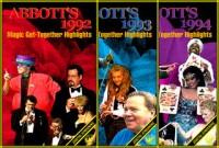 ABBOTT'S 1992, 1993, 1994 GET-TOGETHER HIGHLIGHTS VIDEO SET