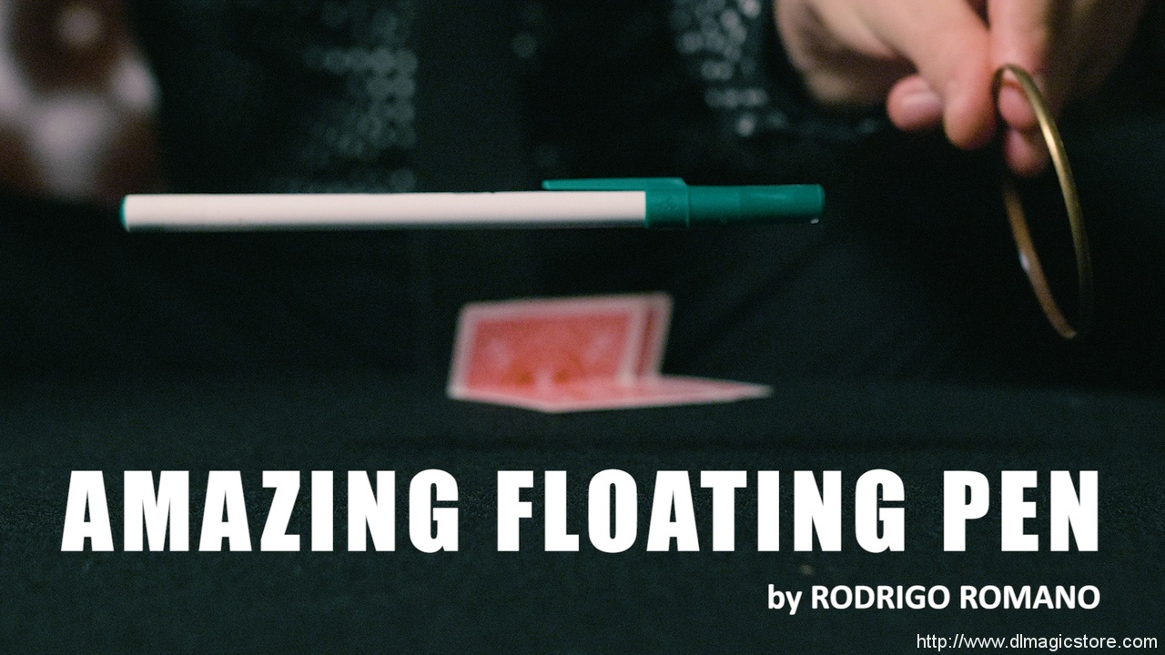 AMAZING FLOATING PEN by Rodrigo Romano  (Instant Download)