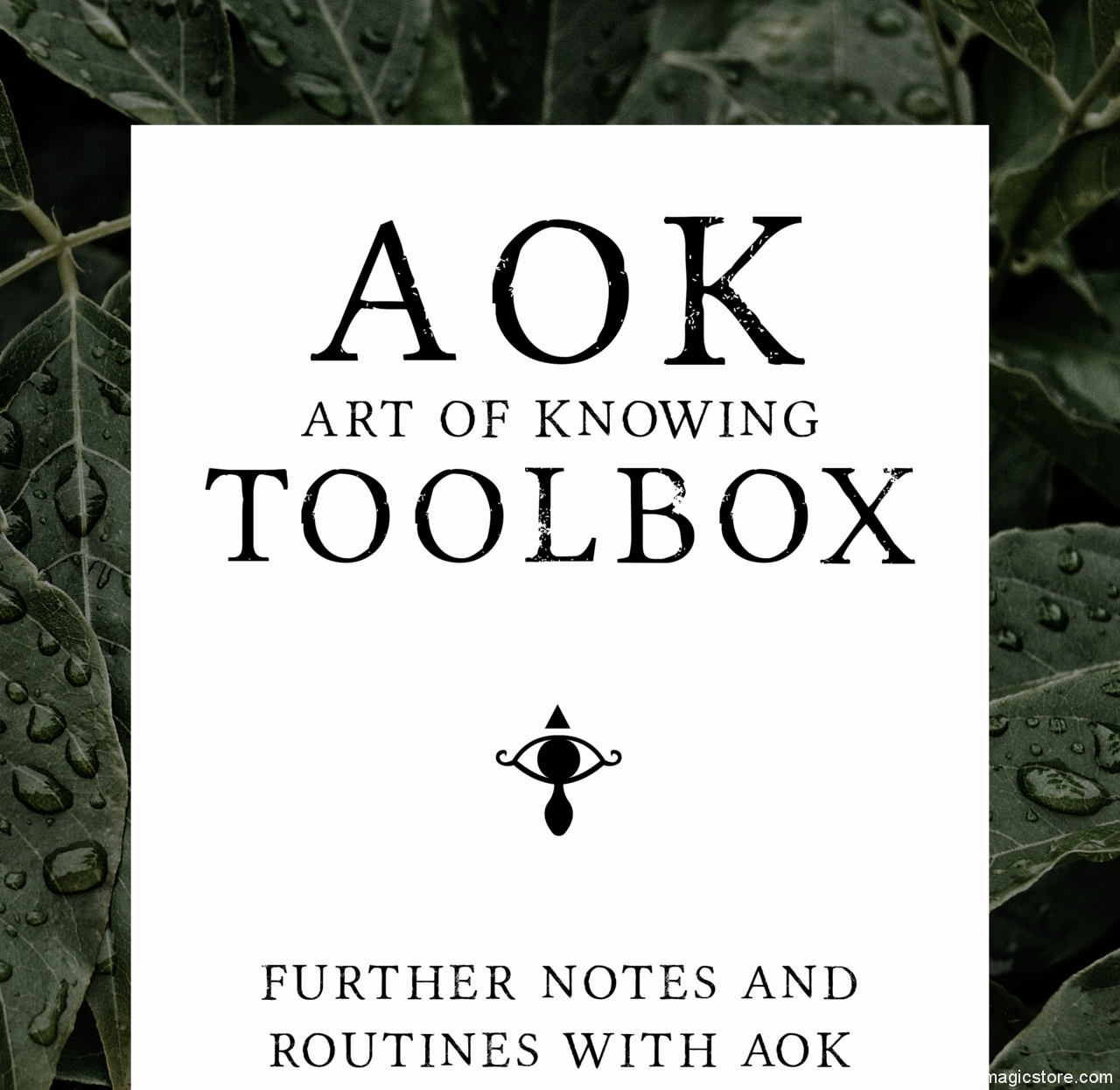 AOK Toolbox by Lewis Le Val (Instant Download)