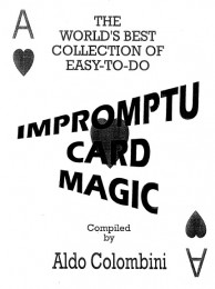 Impromptu Card Magic by Aldo Colombini (Ebooks)