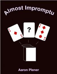 Almost Impromptu by Aaron Plener (Ebook Download)