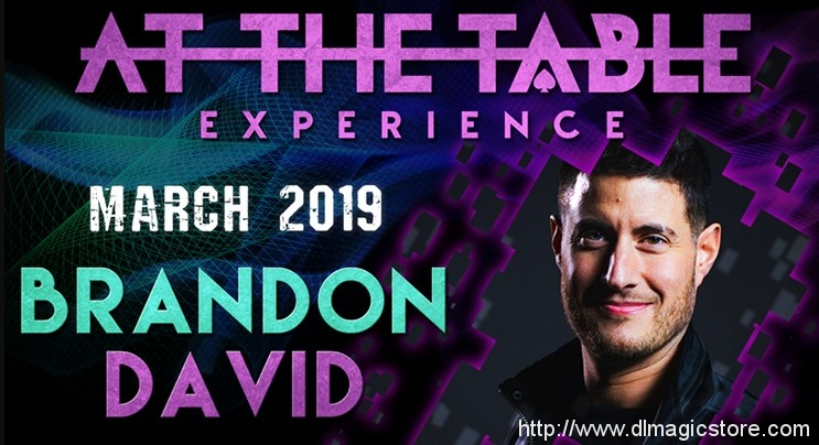 At The Table Live Lecture Brandon David March 6th 2019