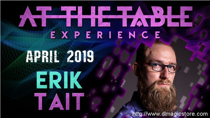 At The Table Live Lecture Erik Tait April 17th 2019