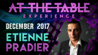 At The Table Live Lecture Etienne Pradier December 20th 2017