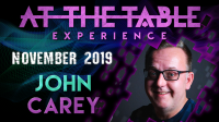 At The Table Live Lecture John Carey 2 November 20th 2019