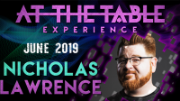 At The Table Live Lecture Nicholas Lawrence June 19th 2019