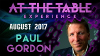 At The Table Live Lecture Paul Gordon August 16th 2017