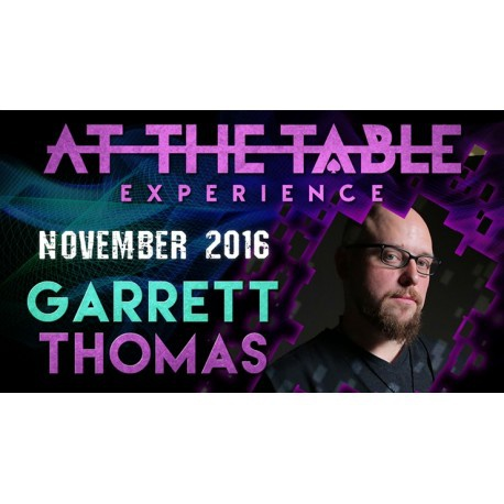 At the Table Live Lecture Garrett Thomas November 2nd 2016 (DRM Protected Video Download)