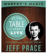 At the Table Live Lecture – Jeff Prace 11/26/2014