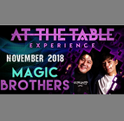 At the Table Live Lecture starring Magic Brothers