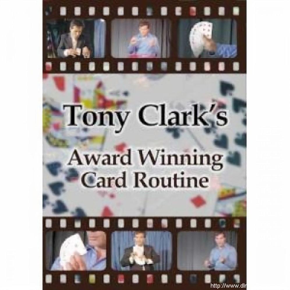 Award Winning Card Manipulation by Tony Clark