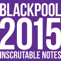 BLACKPOOL NOTES BY JOSEPH BARRY