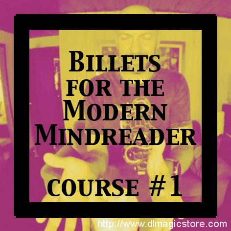 Billets for the Modern Mindreader by Julien Losa